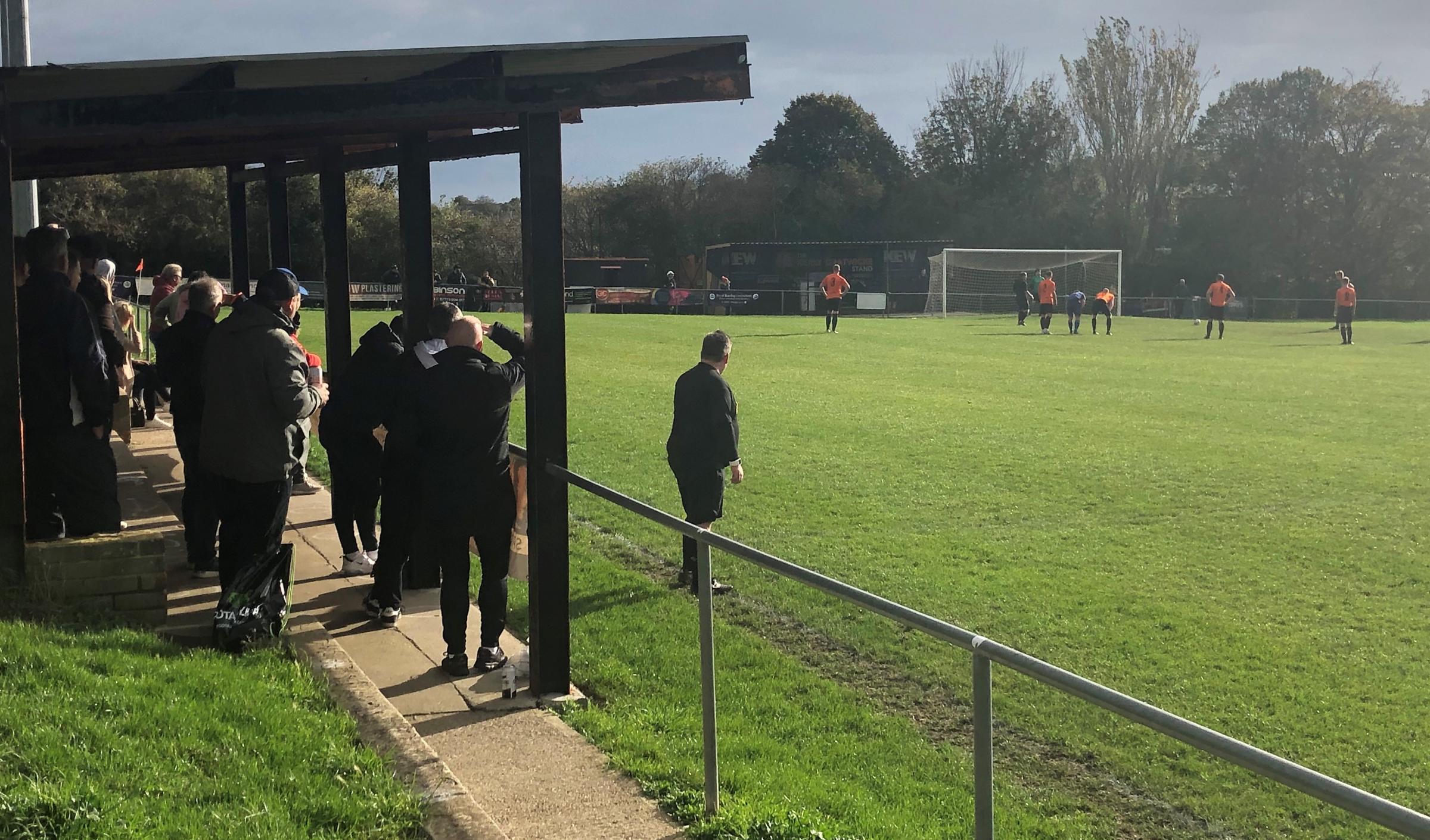 Albion fans enjoy live action during Premier League lockout