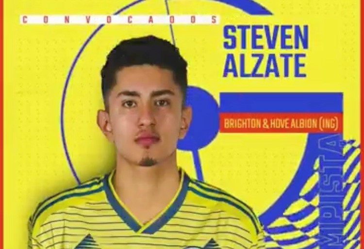 Steven Alzate helps Colombia draw in Chile