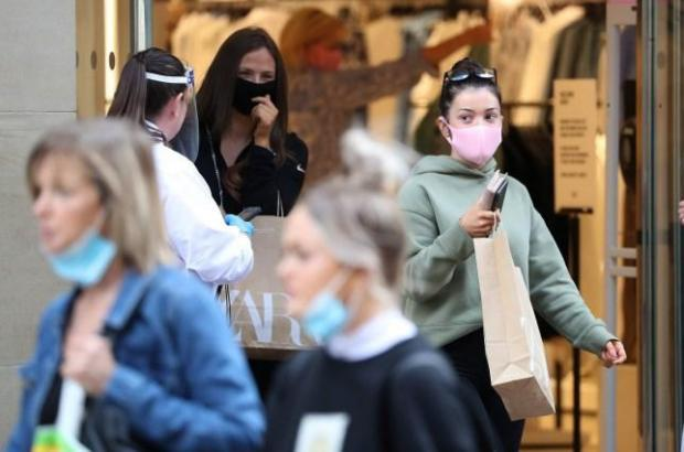 The Argus: Dr Hilary advised disposable masks should only be worn for three hours