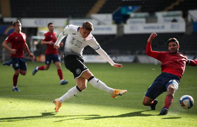 Albion loanee Viktor Gyokeres knows he needs to make the most of his opportunities at Swansea after he got his full debut yesterday