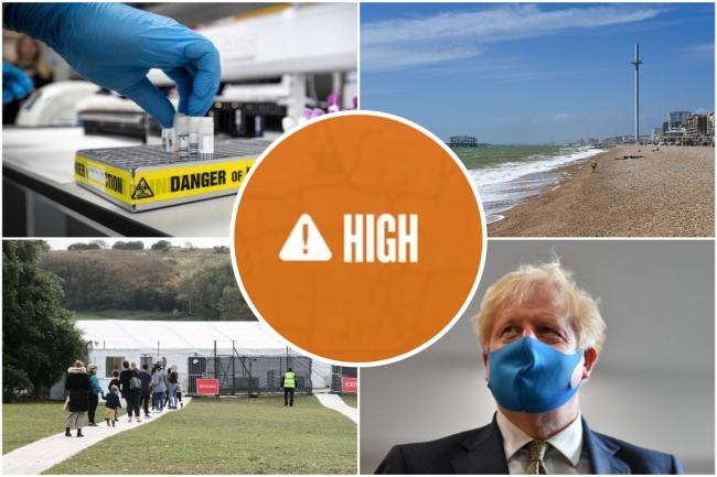 Argus readers were split over whether Brighton and Hove should be placed into tier 2 of the government's new coronavirus alert system, 'high risk'