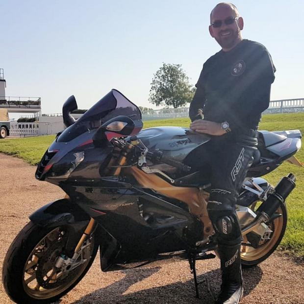 The Argus: Motorcyclist Richard Adde, who was killed in a crash near Slindon last Wednesday