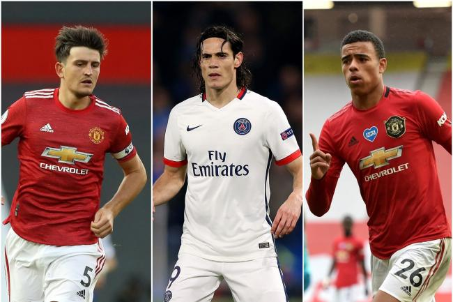 Manchester United tackle PSG without Maguire, Greenwood and Cavani