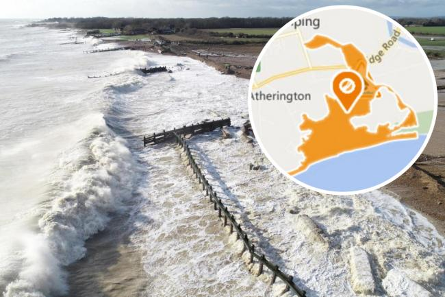 Storm Ciara caused serious damage to flood defences along Climping beach