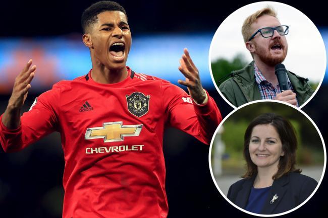 Manchester United star Marcus Rashford's bid to extend a free school meals scheme for vulnerable schoolchildren until next Easter was rejected by MPs
