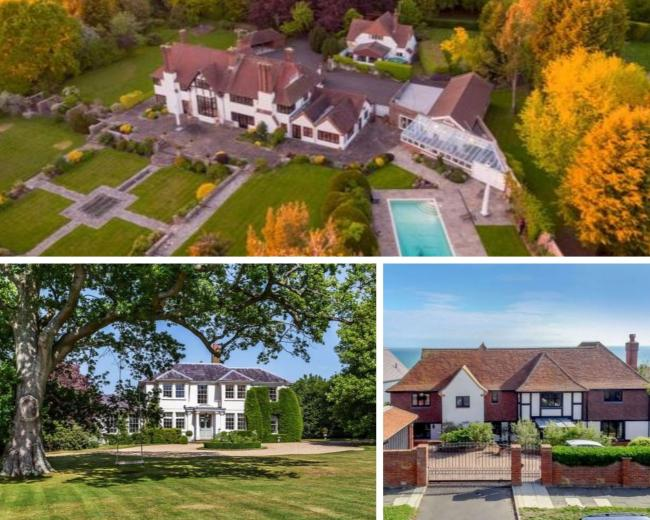 How long would it take you to pay off the mortgage on one of Sussex's most expensive homes? (All images - Zoopla).