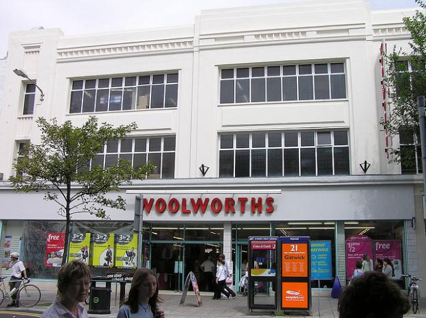 The Argus: One of the very early Woolworths stores