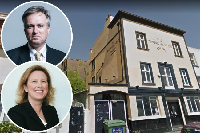 Two Sussex Conservative MPs have been banned  from venues in their constituencies after voting against the extension of Marcus Rashford's free school meals scheme