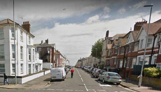 Drugs and cash were seized when a car was stopped by police after a suspected drug deal in Bourne Street, Eastbourne
