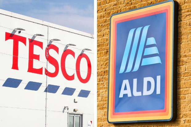 Tesco and Aldi to give staff a special 10 per cent Christmas bonus for 2020. Pictures: PA Wire/Aldi/Newsquest