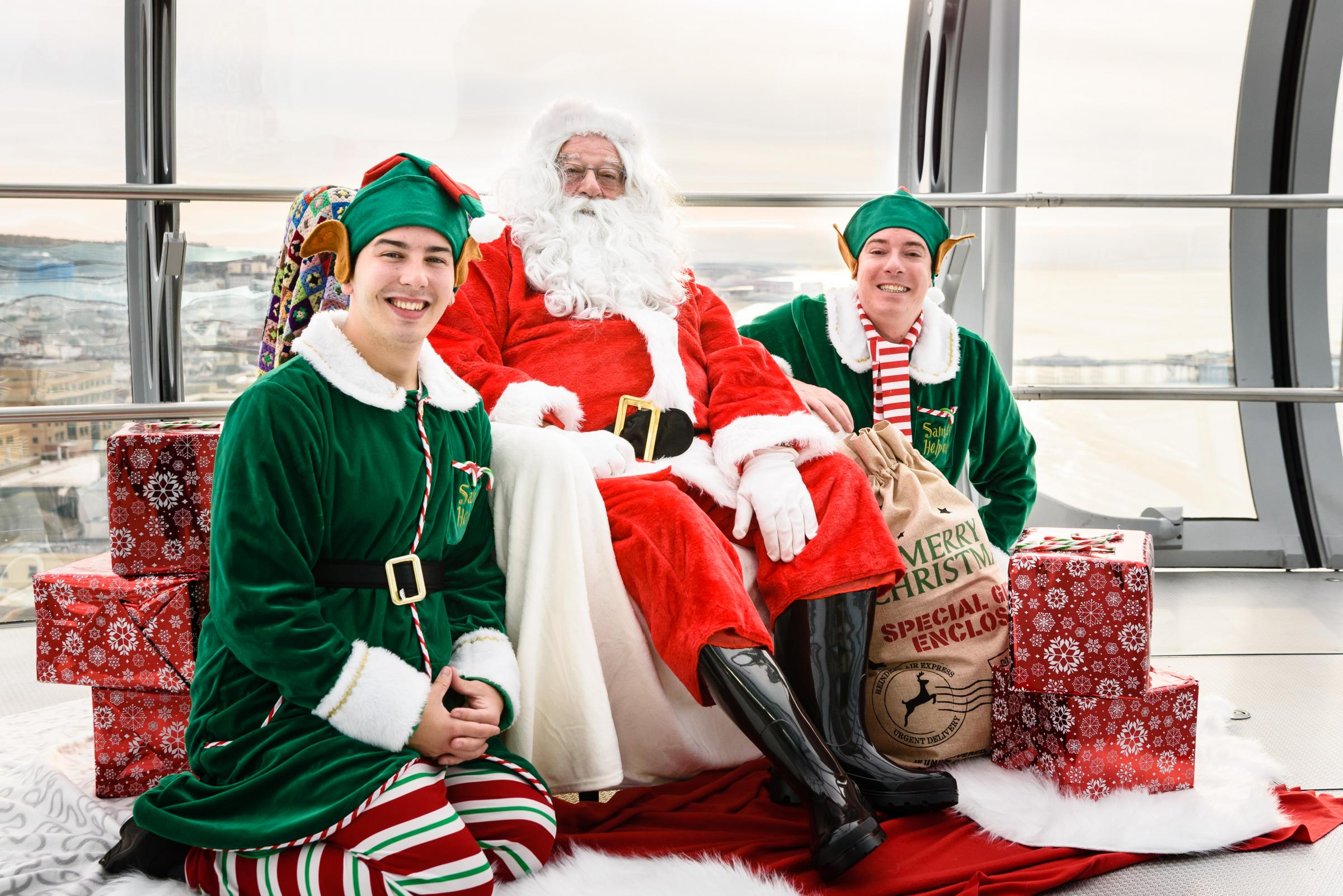 Breakfast and Fly with Santa Experience
