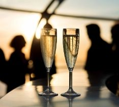 New Year's Eve Fly & Dine at BA i360
