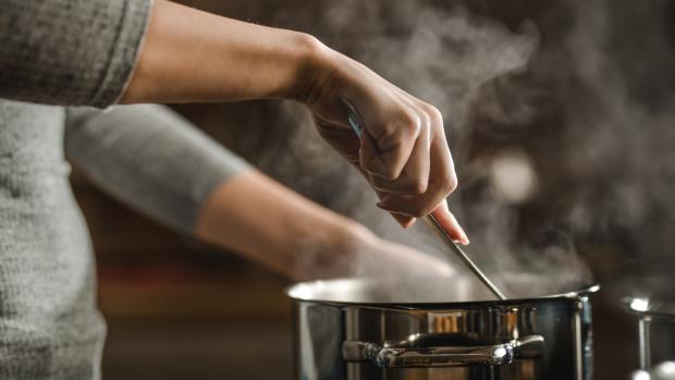 The Argus: The hotter the pot, the more likely it is to get damaged in the sink. Credit: Skynesher/Getty Images