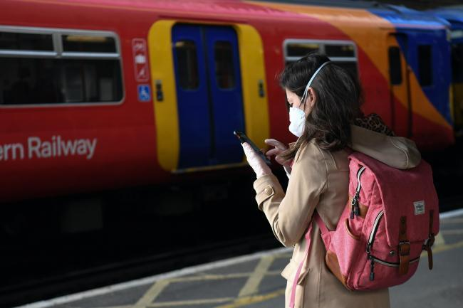 The majority of passengers are complying with the face covering rule on trains, according to train operators and the British Transport Police