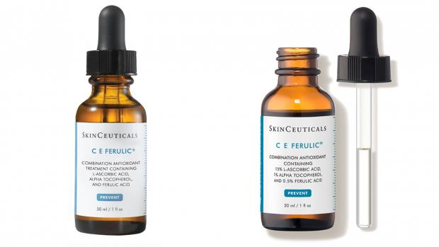 The Argus: It's pricey, but the Skinceuticals C E Ferulic keeps the vitamin C stable with vitamin E and ferulic acid. Credit: Skinceuticals
