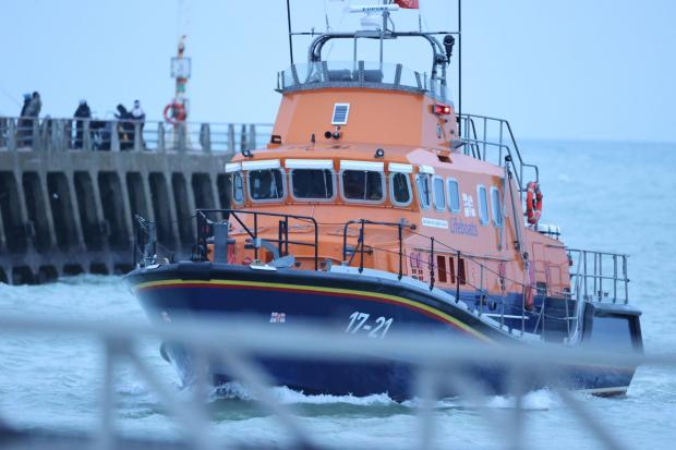 The Argus: Lifeboat crews searched on Saturday and Sunday Credit: Eddie Mitchell