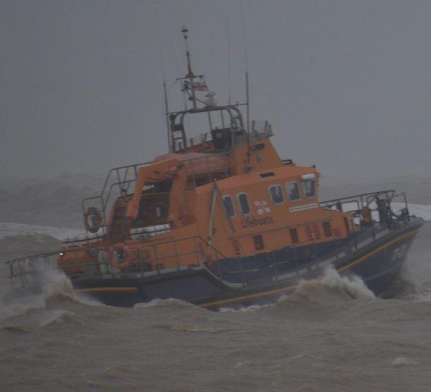 The Argus: The Hastings Lifeboat Credit: Rob Carron