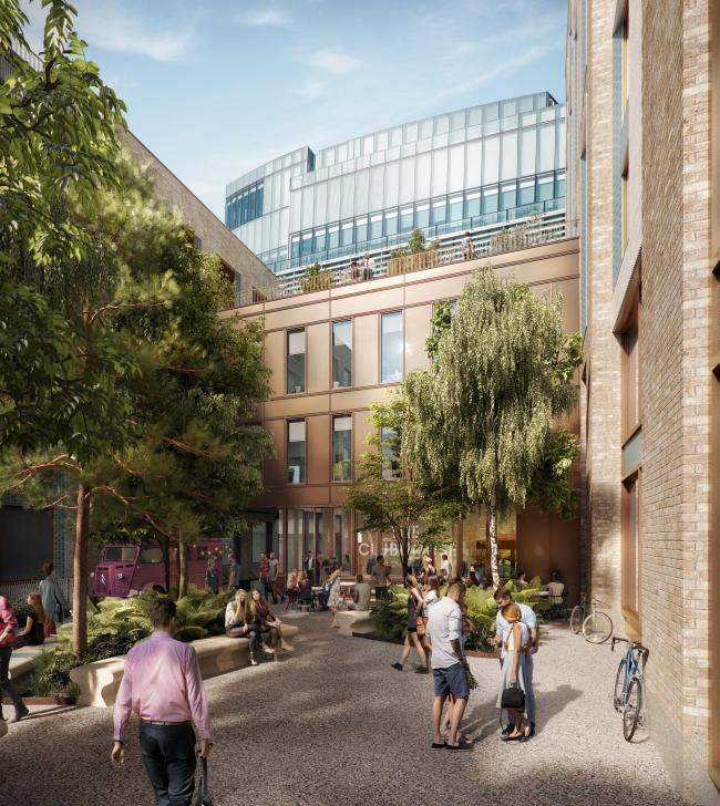 The new Edward Street Quarter leisure complex will provide 110,000 square feet of office space