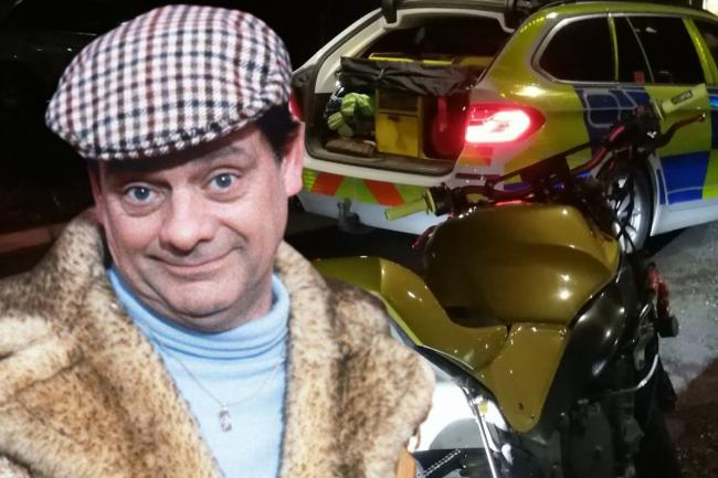 A man has been compared to Del Boy after faking a French accent in a bid to deceive a Sussex police officer. Credit BBC