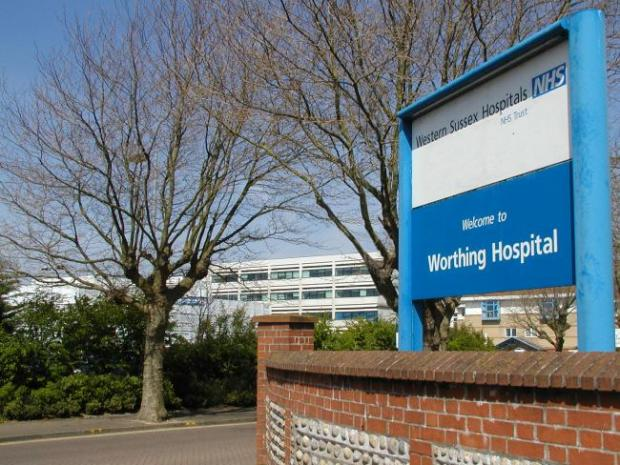 The Argus: Eddie was treated at Worthing Hospital but sadly died