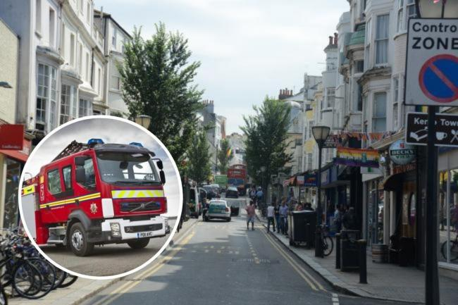 Firefighters and police were alerted to multiple bin fires, including in St James's Street