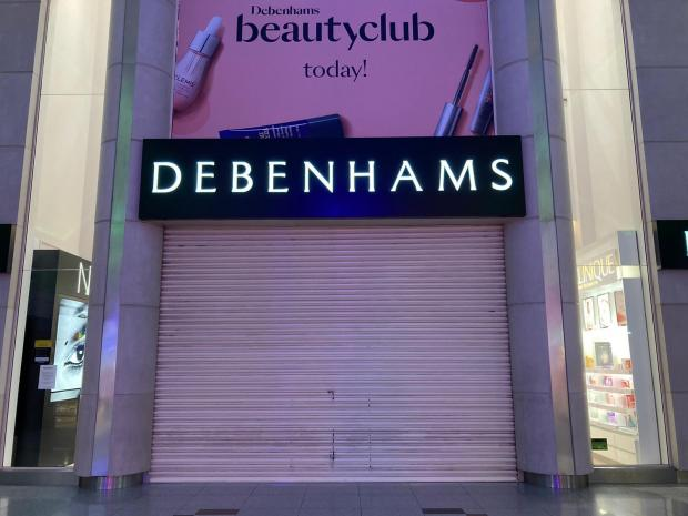 The Argus: Debenhams in the Churchill Square shopping centre, Brighton