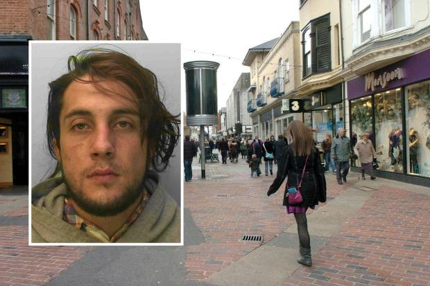 The Argus: Fardin Farji stole sweets from shops in Worthing
