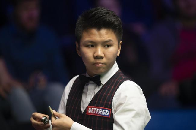 Zhou Yuelong has been backed to win a major tournament (Dave Howarth/PA)