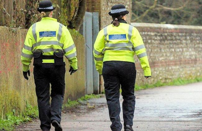 Sussex Police officers will be patrolling across the county reminding people to follow Tier 2 restrictions