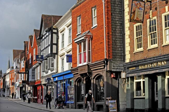 Two Sussex towns have been named on a list of the top 15 places to live in the UK in 2021.
