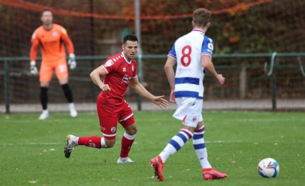 The Argus: Mark Wright played the full 90 minutes for Crawley in their 0-0 draw against Reading's U23's in a behind closed doors friendly