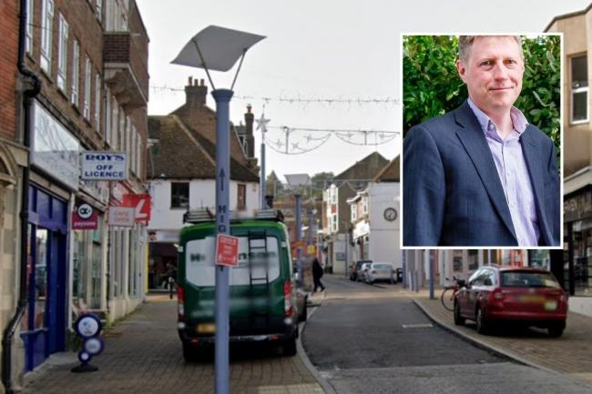 Lewes District Council has been awarded £5 million to boost Newhaven High Street, after a bid by council leader James MacCleary