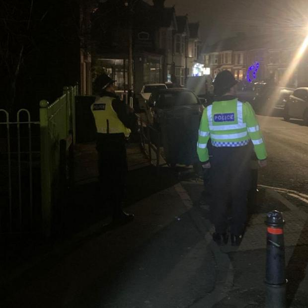 The Argus: Police officers were deployed across Brighton and Hove on New Year's Eve
