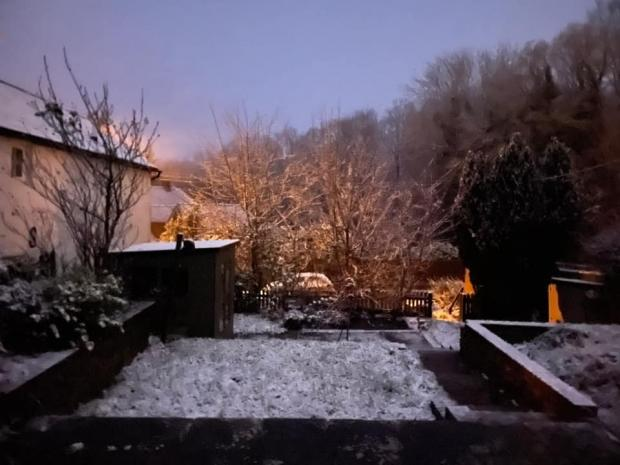 The Argus: Snow in Crowborough, Sussex, this week
