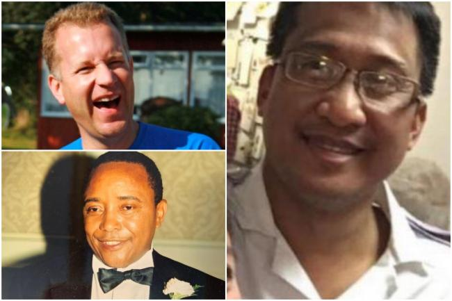 Sussex healthcare workers Wilbald Tesha, Peter Hart and Ruben Munoz are among a tragic number of healthcare staff to have died after testing positive for Ccovid-19