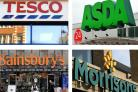 Tesco, Asda, Lidl, Morrisons, Waitrose, Sainsbury's and Aldi, urgently recall these items. (PA)