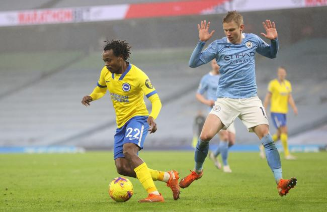 Percy Tau impressed for Albion on his Premier League debut