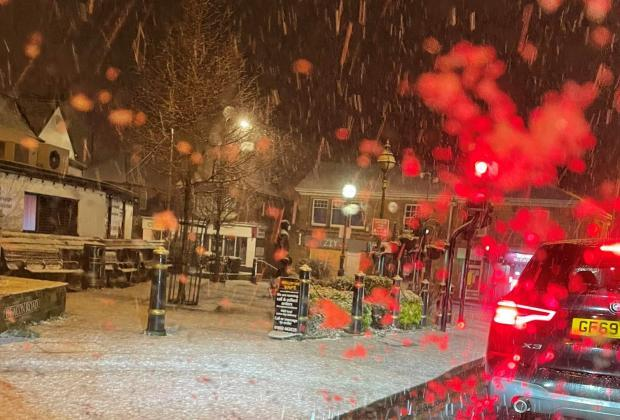 The Argus: Snow in Crowborough earlier this month