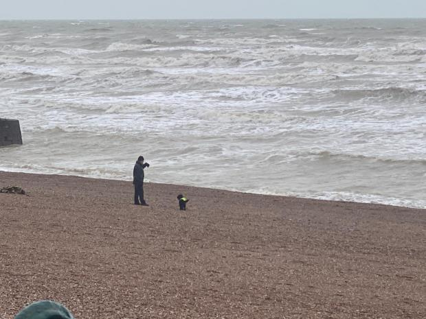 The Argus: Hove seafront during lockdown on January 20