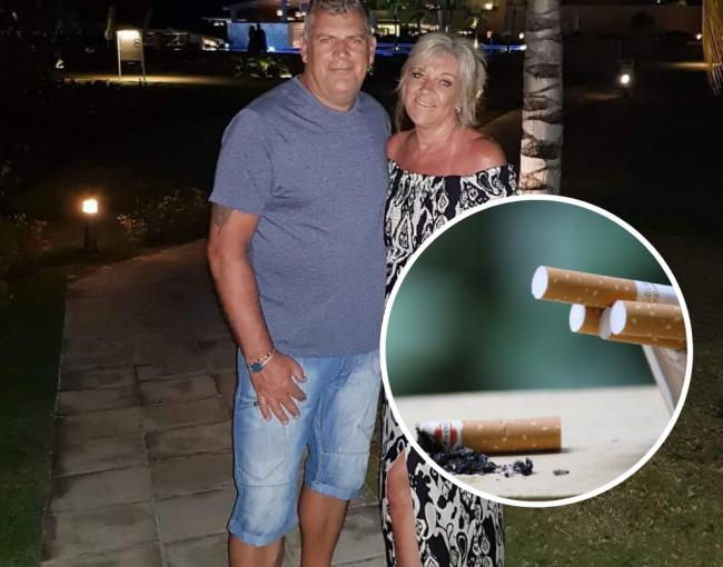 Stuart and Gill Watson from Sussex have given up smoking after over 40-years.