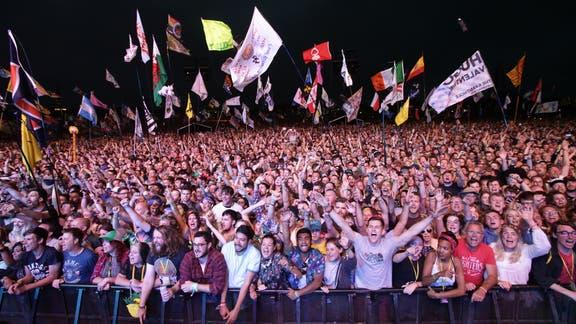 The Argus: Glastonbury. (PA)