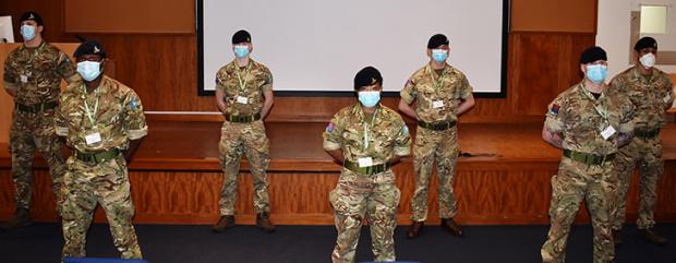 The Argus: Military personnel from the 12th and 16th Royal Artillery have arrived at Eastbourne DGH to support the portering and rapid response cleaning teams