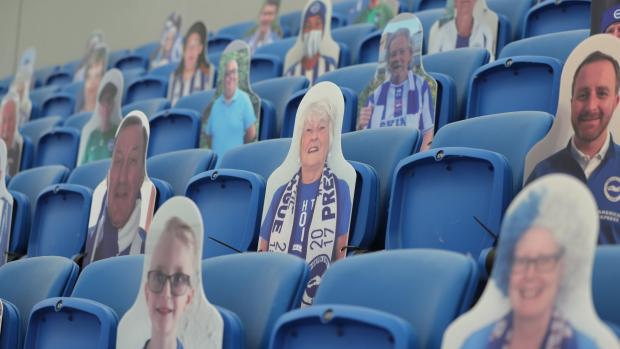 The Argus: Chances to watch Albion at The Amex were few and far between last season