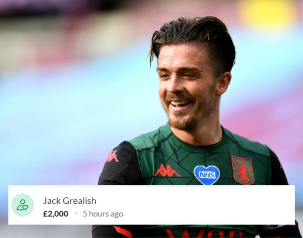 The Argus: Aston Villa footballer Jack Grealish donated £2,000 to Mia's fundraiser.