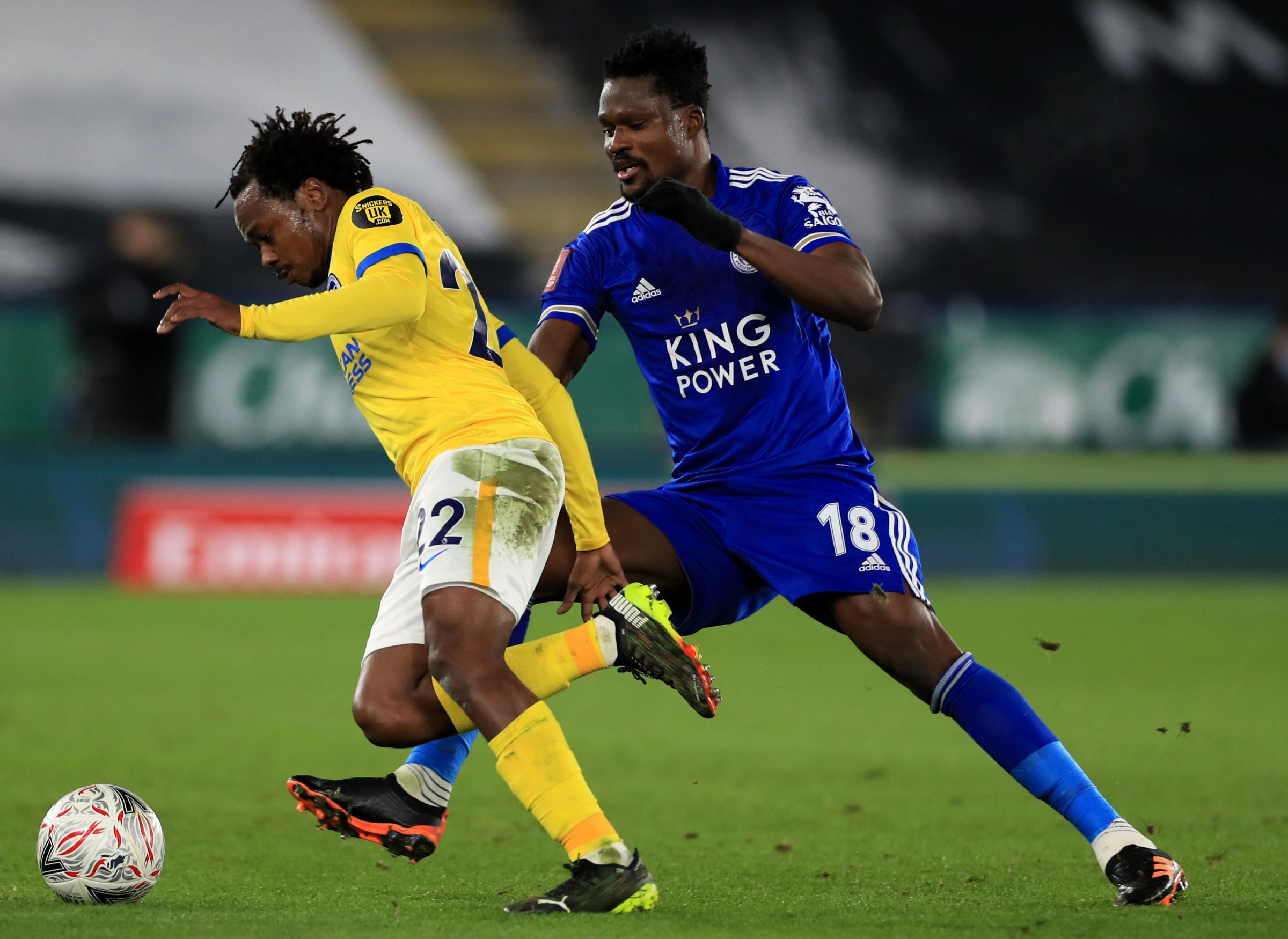 Percy Tau waits for chance to make a Premier League impact