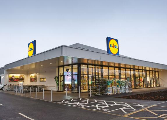 The Argus: Lidl is currently looking to expand its UK portfolio and build new stores, such as the one in the drawing shown, across the country