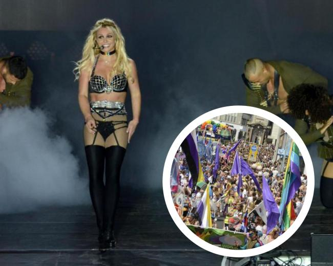 A look back at the pandemonium in Brighton when Britney headlined Pride