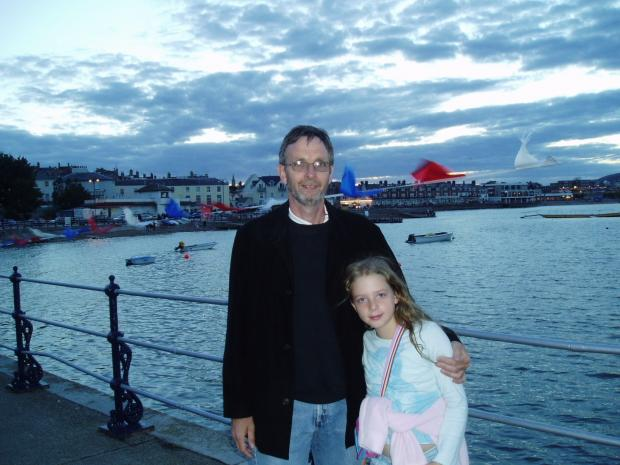 The Argus: My dad and I pictured on Holiday