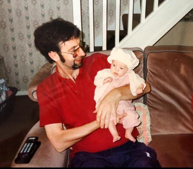 The Argus: My dad holding me as a baby