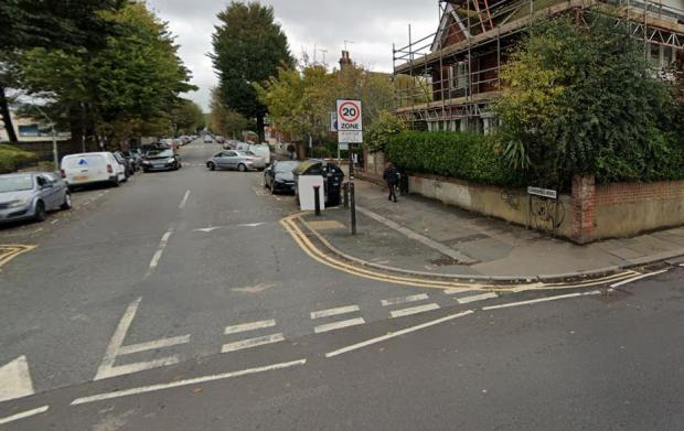 The Argus: The Somerhill Road junction with Lansdowne Road, Hove